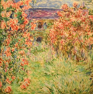 Claude Monet_Das Haus in den Rosen