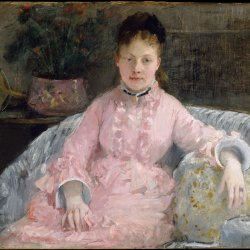Berthe-Morisot-The-Pink-Dress