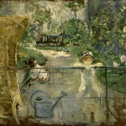 Berthe-Morisot-The-basket-chair