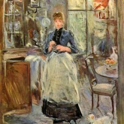 Berthe-Morisot-The-dining-room