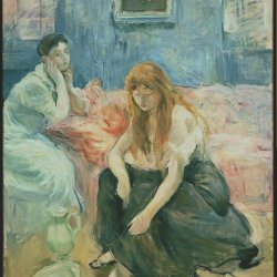 Berthe-Morisot-Two-Girls
