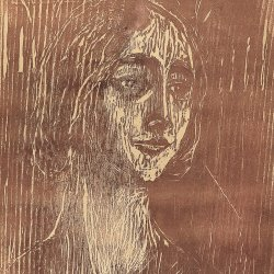 Edvard-Munch-Brigitte-The-gothic-Girl