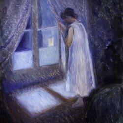 Edvard-Munch-Girl-looking-out-the-window