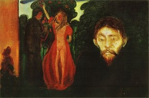 Edvard Munch Jealousy2