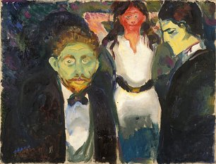 Edvard Munch Jelousy
