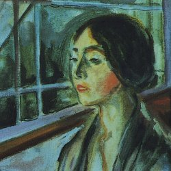 Edvard-Munch-Lonely-woman