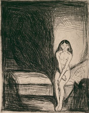 Edvard Munch Madonna Sketch