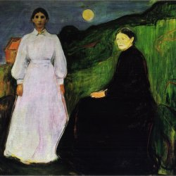 Edvard-Munch-Mother-and-Daughter