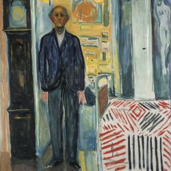 Edvard-Munch-Self-Portrait-Between-the-Clock-and-the-Bed