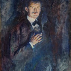 Edvard-Munch-Self-portrait-with-cigarette