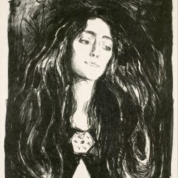 Edvard-Munch-The-Brooch-Eva-Mudocc