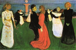 Edvard Munch The Dance Of Life Wandbild