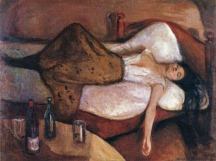 Edvard Munch The Day After Wandbild
