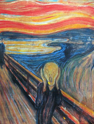 Edvard Munch The Scream Wandbild