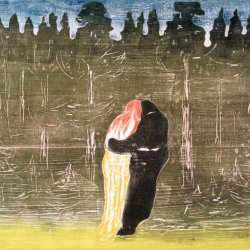 Edvard-Munch-Towards-the-Forest-II