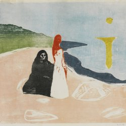 Edvard-Munch-Two-woman-on-the-shore