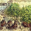 Camille-Pissarro-Place-du-Theatre-Francais-in-Paris