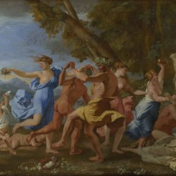 Nicolas-Poussin-Bacchanal-before-a-Statue-of-Pan