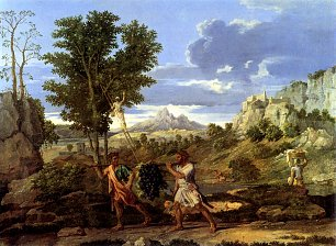 Nicolas Poussin Four seasons autumn Wandbild