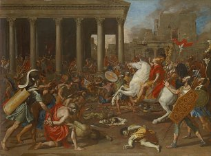 Nicolas Poussin The Conquest of Jerusalem by Emperor Titus