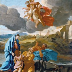 Nicolas-Poussin-The-Return-of-the-Holy-Family-from-Egypt