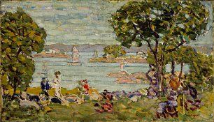 Maurice Prendergast Cove Maine