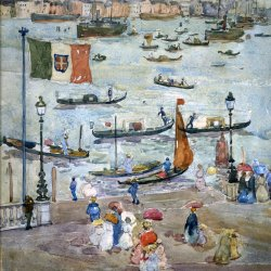Maurice-Prendergast-Levy-Canal-Venice