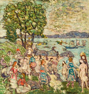 Maurice Prendergast The bathing Cove
