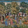 Maurice-Prendergast-Under-the-Trees