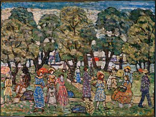 Maurice Prendergast Under the Trees