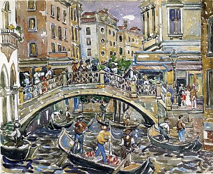 Maurice Prendergast canal