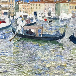 Maurice-Prendergast-grand-canal-venice