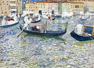 Maurice Prendergast grand canal venice