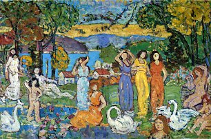 Maurice Prendergast the picnic
