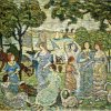 Maurice-Prendergast-the-swans