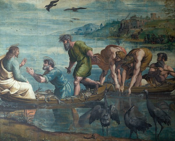 Raffael The Miraculous Draft of Fishes