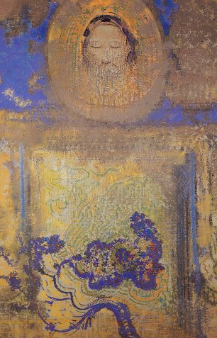 Odilon Redon Evocation Wandbild