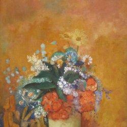Odilon-Redon-Flowers-in-a-Vase