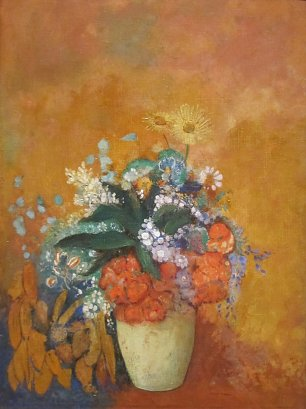 Odilon Redon Flowers in a Vase