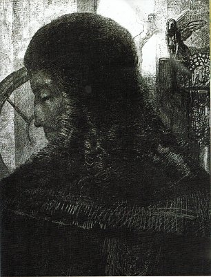 Odilon Redon Old Knight Wandbild