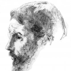 Odilon-Redon-Portrait-of-Bonnard
