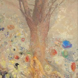 Odilon-Redon-The-Buddha