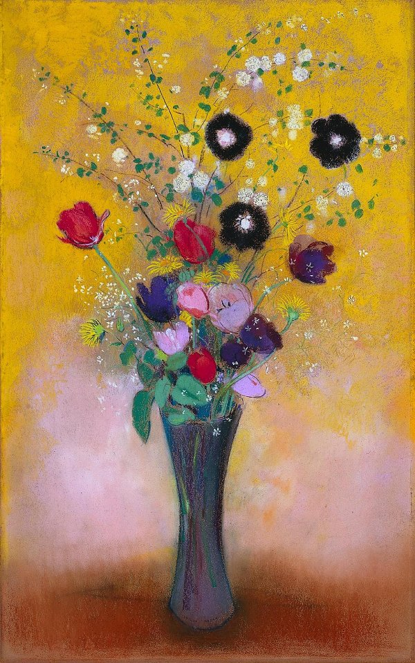Odilon Redon Vase of Flowers