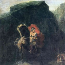 Odilon-Redon-roland-at-roncesvalles
