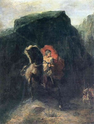 Odilon Redon roland at roncesvalles