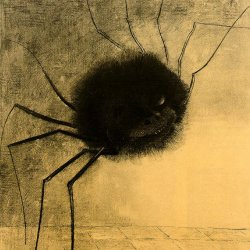 Odilon-Redon-the-smiling-spider
