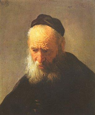 Rembrandt van Rijn Portrait des Vaters 1 Wandbilder