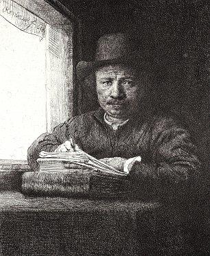 Rembrandt van Rijn SelbstPortrait 35 Wandbilder