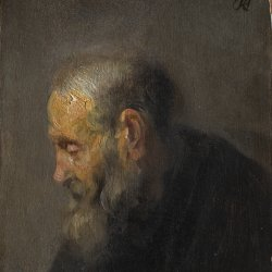 Rembrandt-van-Rijn-Study-of-an-Old-Man-in-Profile-