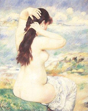 Auguste Renoir Badegast 3 Wandbilder